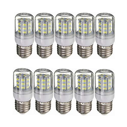 YQXR Telefon zubehör Neue 12 Volt LED-Niedervolt-Glühlampen für mittelgroße RV-E26 / E27-Schrauben in 3.5W (gleich 30 Watt Glühlampe) für RV-Camper-Marine, Solar-Power-Licht und netzunabhängiges 10-Pa 30w-marine