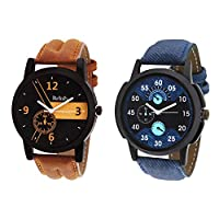 Relish 1063C Analog Watches Combo of Men's and Boys Pack of 2