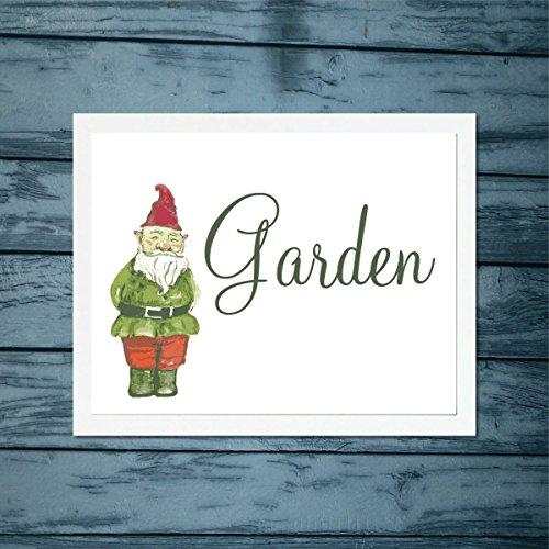 Garden-Gnome-Art-Print-Contemporary-Art-Print-Housewarming-Art-Print-Home-Decor-Garden-Art-Print-Artwork-Housewarming-Gift-Archival-Art-Print-Illustration-Wall-Art-Modern-Art-Gift-Picture-Wall-Hanging