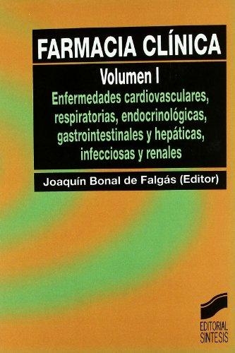 Farmacia clínica: Vol.1 por Joaquim Bonal de Falgás