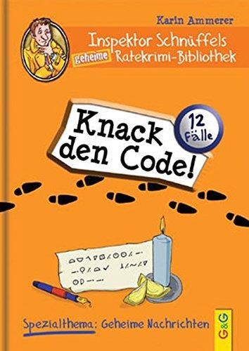 Inspektor Schnüffels geheime Ratekrimi Bibliothek - Knack den Code!
