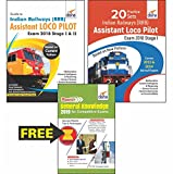 #2: Indian Railways (RRB) Assistant Loco Pilot & Technician Exam 2018 Stage I & II: Guide + 20 Practice Sets + Free Rapid GK Book (Included in Combo)