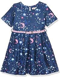 Uttam Boutique Girl's Galaxy Print Skater Dress