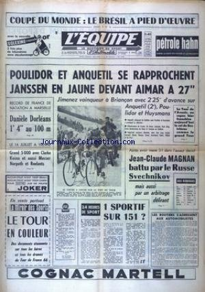 EQUIPE (L') [No 6306] du 08/07/1966