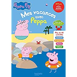 Mes vacances avec PEPPA PIG PS à MS - Cahier de vacances