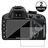awinner cristal para cámara, para Nikon D3200D3400D3300D3100Protector de pantalla...