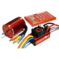 LEOPARD SKYRC 3000KV 13T Brushless Motor & 60A ESC Speed Controller Combo ME714 with RCECHO Full Version Apps Edition