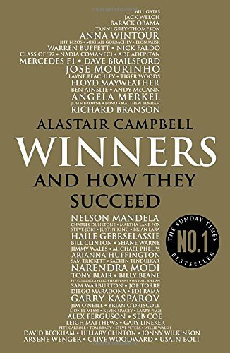 Portada del libro Winners: And How They Succeed by Alastair Campbell (2016-03-24)