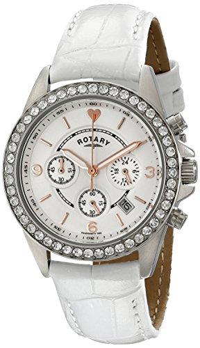 Rotary Damen Uhr Analog Quarz Mit Leder Armband LS00147/41