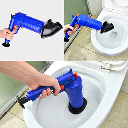 WXQDD dredge Hochdruck-Luftauslass Shockwave Wc-Reinigungswerkzeug Kanalfilter Bagger Wc-Kolben Haarentfernung Reinigung Kitchen Kit, Usa -