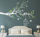Asmi Collections Pvc Wall Stickers White...