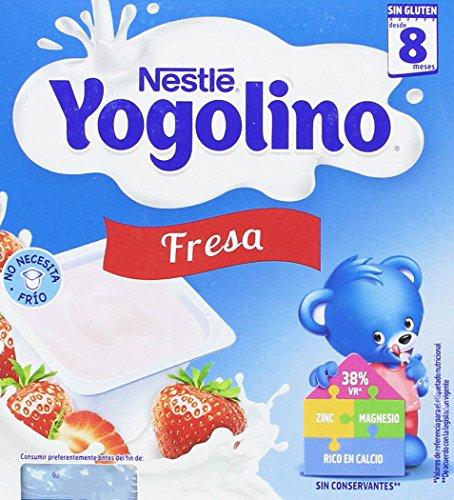 Iogolino - Fresa A Partir De 8 Meses 4 x 100 g - [pack de 3]