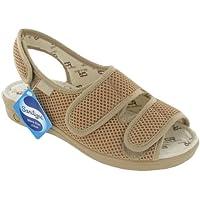 Mirak Celia Ruiz 213Ampia Fit Sandali/sandali da donna, donna, beige,