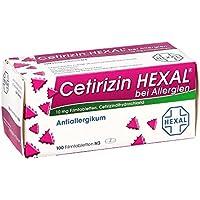 Cetirizin Hexal bei Allergien, 100 St. Filmtabletten preisvergleich bei billige-tabletten.eu