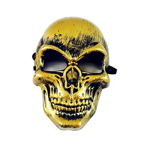 MáScaras De Terror Payaso, Zolimx Mascara Halloween Baratas Horror Mueca Noche Terror Máscara Disfraces Vestido de Fiesta Para Hombre y Mujer Unisex Adultos (A)