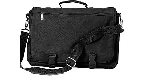 BG0010 ZUZ-BG0010-OS-Black ZUZIFY Soft-Sided Classic Briefcase