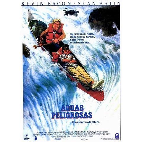 White Water Summer Póster de película español en 11 x 17 - 28 cm x 44 cm Kevin Bacon Sean Astin Jonathan Ward Matt Adler K.C, Martel