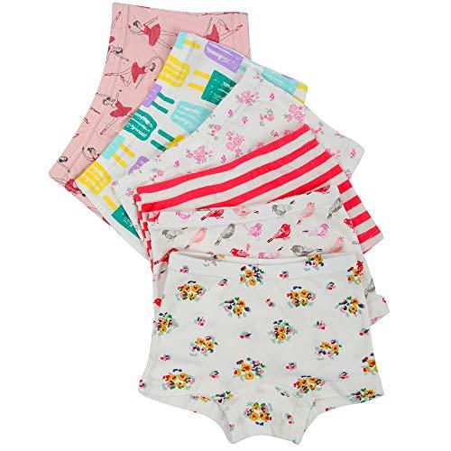 edabf55247 Kidear Intimi per Bambini di Serie Kid Mutandine Culotte in Cotone per  Bambine Piccole (Confezione da 6)