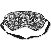 Seashells And Starfish Illustration Sleep Eyes Masks - Comfortable Sleeping Mask Eye Cover For Travelling Night... preisvergleich bei billige-tabletten.eu