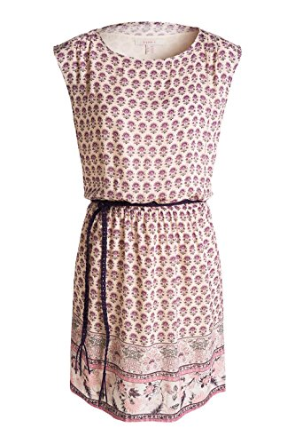 Esprit Mit Floralem Druck, Robe Femme Multicolore (SAND 285)