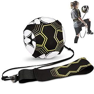 Hitasche Football Ceinture D'entraînement, Sangle Élastique pour Entraînement de Football, Ceinture Réglable Solo Kicking Pratique, Football Kick Traine pour Enfant et Adulte