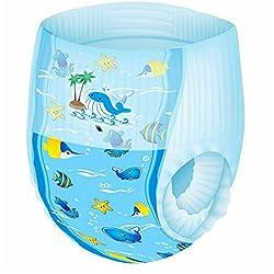 6 PCS Pequeños Reutilizables Nadadores,GZQES,Pañales para Bebé de natación impermeable,Color Azar