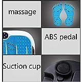 SZJRYAN Vibrationsplatte, Fußmassagegerät Abnehmen Gewichtsverlust Maschine Ganzer Körper Übung Leistung Oszillierend Plattform (Farbe : Blau, größe : 70cm/27.6in) - 3