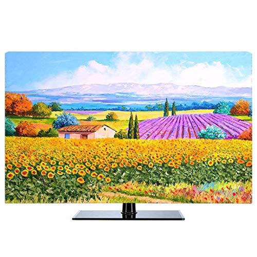 Monitor Hülle - Staubschutzhülle LCD- / LED- / HD-Display-Schutzhülle Baumwollgewebe/dreidimensionale Einfassung/Staubdichtes/Sonnenschutz/kein Ausbleichen/22-80 Zoll-32Zoll-M