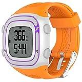 Gereton  Uhrenarmband Ersatzband mit Verstellbarer Schnalle und Schnellverschluss Sport Silikon Armband für Garmin Forerunner 10 15 GPS Laufuhr Klein groß mit Werkzeug