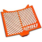 Protections radiateur KTM 1290 Super Duke/ R 14-16 Inox orange logo