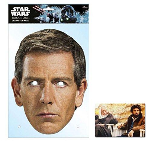 Orson Krennic Rogue One: A Star Wars Story Single Karte Partei Gesichtsmasken (Maske) Enthält 6X4 (15X10Cm) starfoto