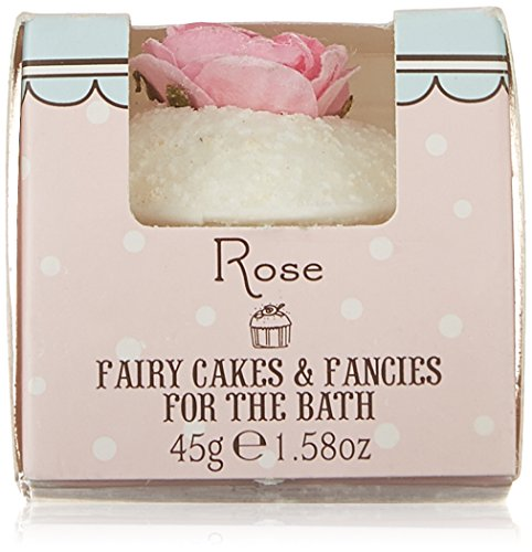 Rose And Co Patisserie De Bain Fairy Cake Moisturising Bath Melt ROSE 45g
