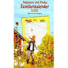 Pettersson und Findus Familienkalender 2008