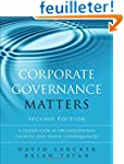 Corporate Governance Matters: A Close...