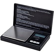 SODIAL(R)Digital Escala de bolsillo 500 Gram X 0,1 gram para