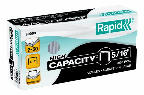 Staples for S50, SuperFlatClinch High Capacity Stapler