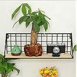 margueras 1pcs Cesta de estantería suspendida/estanterías murales para casa habitación cocina