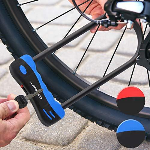 Jago- Candado para bicis y Motocicletas Azul