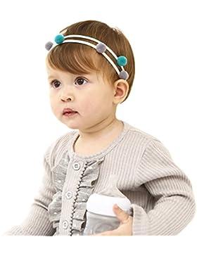[Patrocinado]Vellette Bebe Nina Arco de Elasticas / Venda del Pelo de Colores / Pinzas de Cabello / Headwraps / Accesorios...