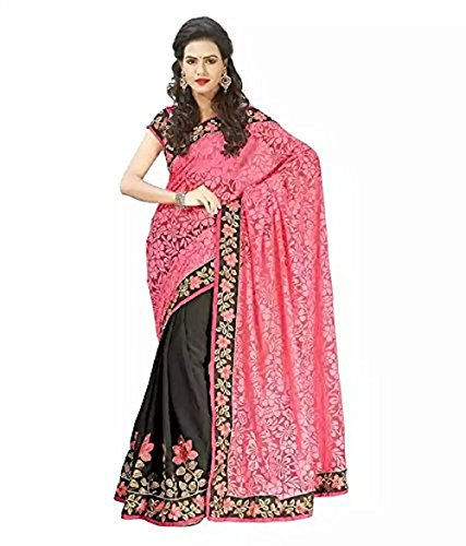 Saree Women's Latest Designer New Multicoloured Georgette Beautiful Bollywood Saree Collection By...