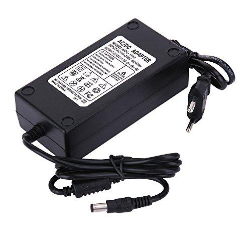 Everpert 15V 5A AC zu DC Power Adapter Dual Kabel Konverter Universal 5.5x2.1-2.5mm (15v 5a Netzteil)