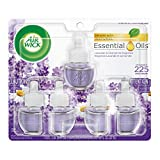 Air Wick Essential Oils, Lavender & Chamomile Scented Oil Refill Plug in Air-Freshener
