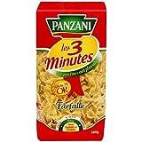 Panzani Pâtes Les 3 Minutes Farfalle 500 g