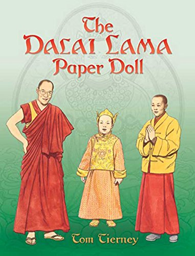 The Dalai Lama Paper Doll (Dover Paper Dolls)