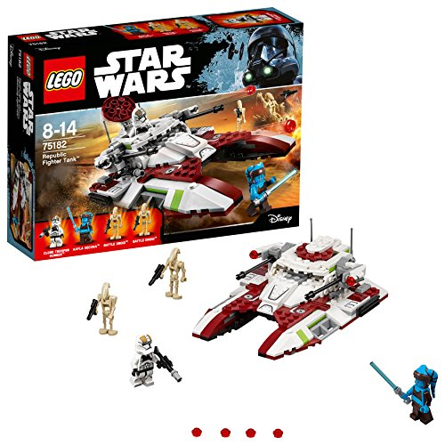 LEGO - Star Wars - Republic Fighter Tank - 75182 - Jeu de Construction