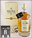 Slyrs Classic Single Malt Whisky - aus Deutschland - mit einem Flaschenportionierer aus Echtglas, kostenloser Versand