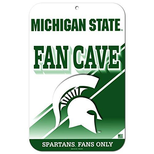 Wincraft 27,9x 43,2cm Fan Cave Straßenschild Michigan State University spartens -