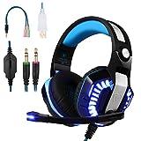 BlueFire Cascos para Xbox One PS4, Auriculares Gaming Bajo Envolvente...