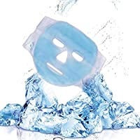 Gel Face Mask Cold Pack & Heat Compress- Foonee Ice Mask Cool Face Mask For Reduce Puffiness, Bags Under Eyes, Puffy Dark Circles, Migraine, Skin Care