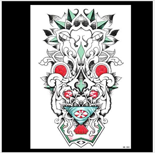 Blumen-Arm-voller Arm-Tätowierungs-Aufkleber-Tätowierungs-Aufkleber-wasserdichte Simulations-großes Bild-Tätowierungs-Aufkleber 14.8 * 21Cm - Rose Tätowierungen